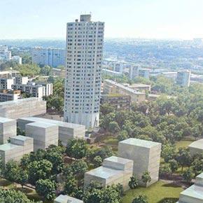 Renouvellement urbain - Quartier La Duchère - Lyon